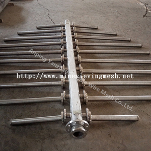 Tube and tube spreader